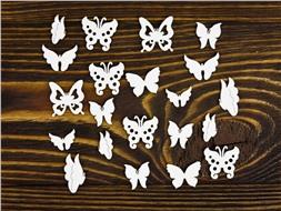 Набор мини-бабочек