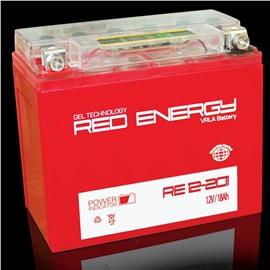 АКБ Red Energy гелевый  YTX20L-BS (177 х 88 х 154) c тестером