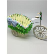 Велосипед декоративный арт.XY-3 цвет: светло-зеленый