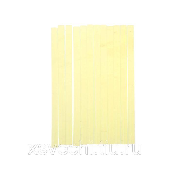 Стержни клеевые Matrix, прозрачные, 11х200 мм, набор 12 шт