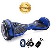 Гироскутер Hoverbot A6 Premium кислотно-синий (приложение + Bluetooth-музыка + 3 режима работы + пульт + сумка)