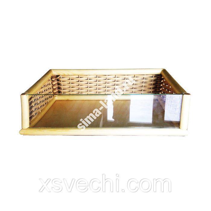 Короб на каркасе со стеклом 2