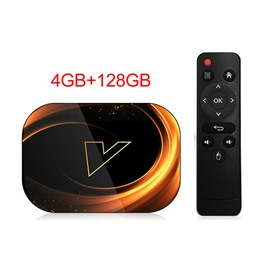 Медиаплеер Vontar ТВ-приставка Vontar X3 4/128 Gb на Android 9 (Amlogic S905X3)