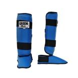 Защита голень-стопа Battle SIB-0014, к/з, синяя
