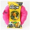 Подушка-трансформер для путешествий Total Pillow (Тотал Пиллоу) Розовая