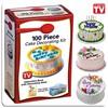 """Набор для декорации торта """"Кондитер"""" 100 Piece Cake Decoration Kit"""