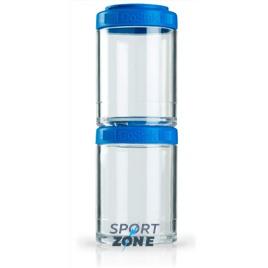 Шейкер для спортивного питания BlenderBottle GoStak синий