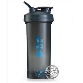 Шейкер для спортивного питания BlenderBottle Pro45, серый/синий