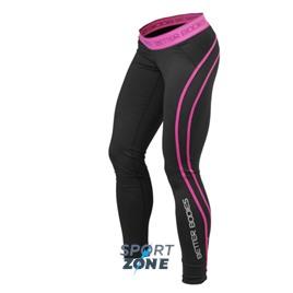 Спортивные леггинсы Better bodies Athlete tights, черный/розовый