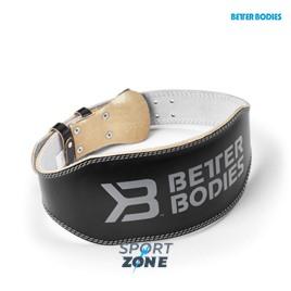 Атлетический пояс Better Bodies Lifting Belt 6 lnch черный