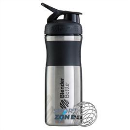 SportMixer Stainless 828мл Black/Teal [черный/морской голубой] из нержавеющей стали