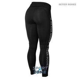Спортивные лосины Better bodies Side panel tig, черные