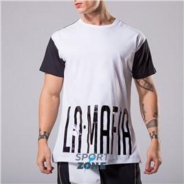 Футболка мужская Labellamafia Chloride, цвет чёрный/белый