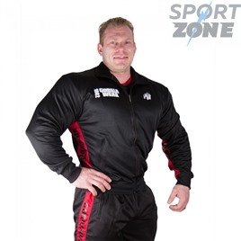 Ветровка GORILLA WEAR TRACK JACKET BLACK/RED