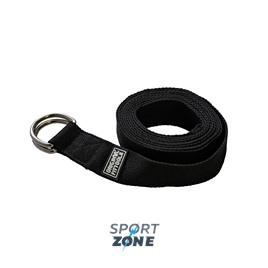 Ремешок для йоги 304 см, черный