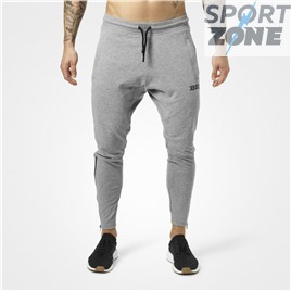Спортивные брюки Better Bodies Harlem Zip Pants, Greymelange