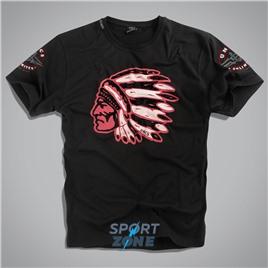 Мужская футболка US CHEROKEE BLACK UNCLE SAM