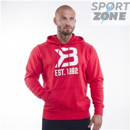 Толстовка Better Bodies Gym Hoodie, Bright Red