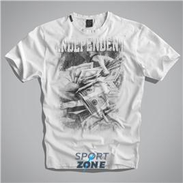 Мужская футболка US INDEPENDENT WHITE UNCLE SAM