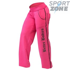 Спортивные штаны Better bodies Baggy soft pant, розовый