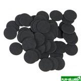 Фибра упаковка 50 шт. (чёрная, 1 мм, н/д 16мм), интернет-магазин товаров для бильярда Play-billiard.ru