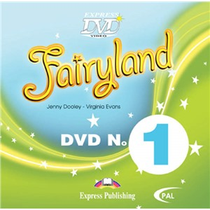 Fairyland 1. DVD видео (PAL)