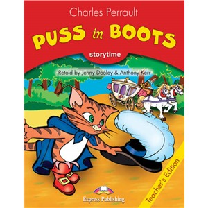 puss in boots teacher's book - книга для учителя