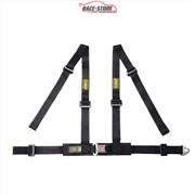 OMP DA507071 Ремень/ремни безопасности ROAD 4M, 4точки черный