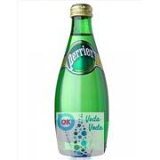 Perrier 0,33 упаковка минеральной газированной воды - 24 шт.