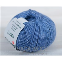 Пряжа Gepard Garn Loden 733 Lavender blue (лавандовый синий), 110м/50гр