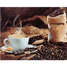 "Картина для рисования по номерам ""Аромат кофе"" арт. GX 8932 m"