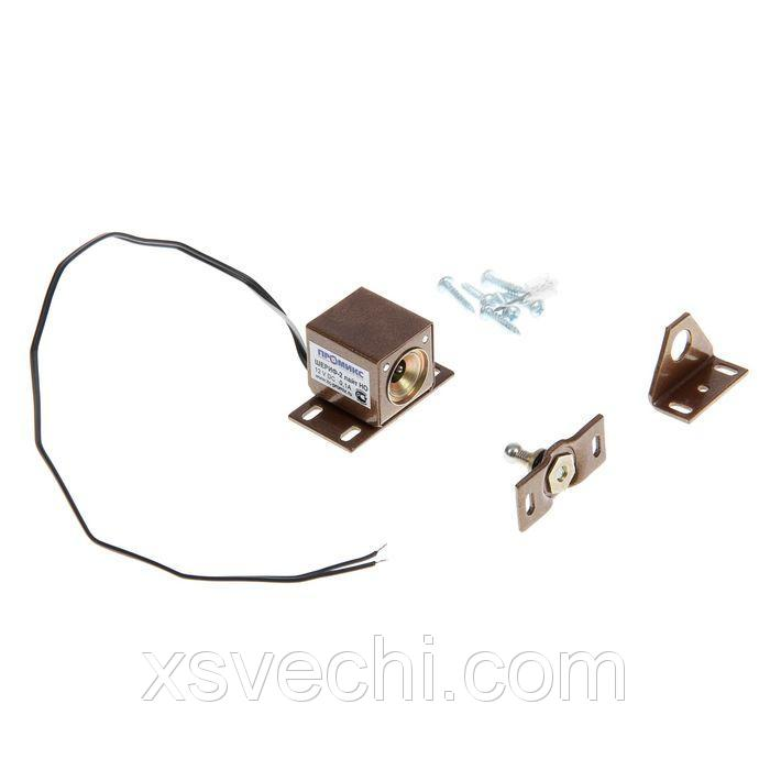Замок Шериф-2 лайт, электромеханический накладной, нормально открытый, коричневый