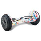 Гироскутер Smart balance wheel 10.5 new Premium граффити белый