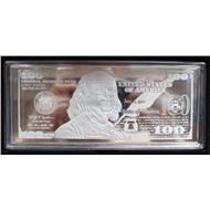 2017 год США серебро 4 унции 100 долларов