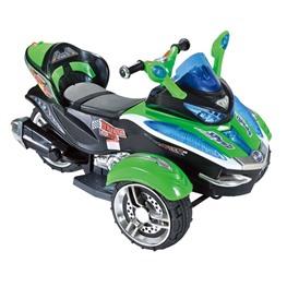 Трицикл С001СР, зелёный