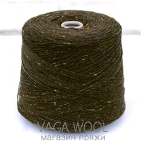 Пряжа Твид Soft Donegal Болото 5502, 190м в 50 г. Knoll Yarns, Ballycastle