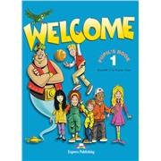 welcome 1 student's book - учебник (+ alphabet)