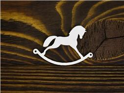 Лошадка-качалка простая
