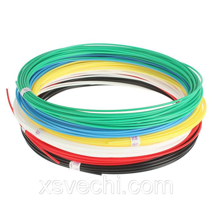 Набор низкотемпературного пластика UNID KID-6, 6 цветов по 10 м