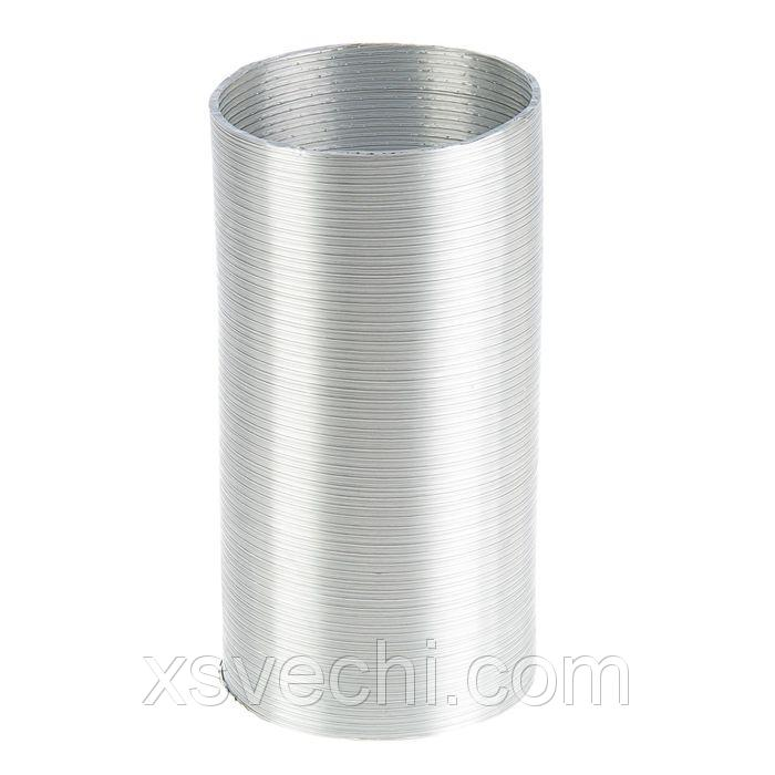 Канал алюминиевый, гофрированный, d=130 мм, 3 м
