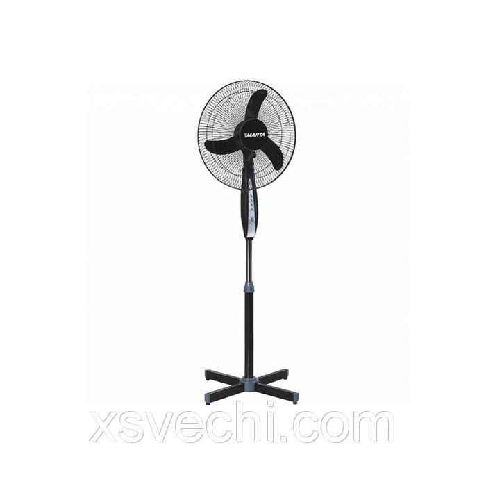 Вентилятор Marta MT-2554, напольный, черный