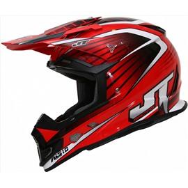 Шлем кроссовый ALS1.0 красный M