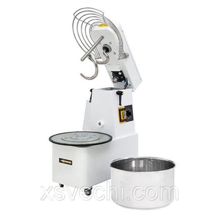 Тестомес Gemlux GHSR 30B, до 88 кг/ч, объем дежи 32 л, таймер