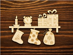 Полка с подарками