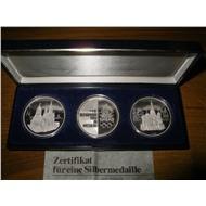 Набор монет - медалей Олимпиада Москва 1980
