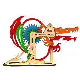 M-WOOD Конструктор 3D деревянный M-WOOD Дракон