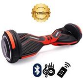 Гироскутер Hoverbot A6 Premium кислотно-оранжевый (приложение + Bluetooth-музыка + 3 режима работы + пульт + сумка)