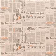 Ткань Newspaper