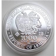 Армения 2014 Ноев Ковчег 5 унций серебро