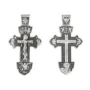 Крест серебряный  № 03100, серебро 925°